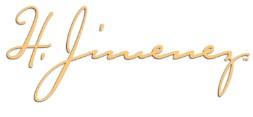 H Jimenez Guitar logo