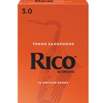 Rico Tenor Sax Reeds 3.0 - Box of 10