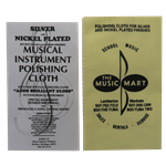 Music Mart Polishing Cloth - Silver and Nickel Yellow