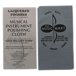 Music Mart Polishing Cloth - Lacquered Finishes