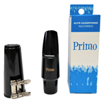 Primo Eb Alto Sax Mouthpiece w/ Cap and Ligature