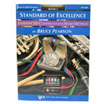 Standard of Excellence Enhanced Book 2 - Drums & Mallet Percussion