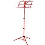 Strukture Folding Music Stand - Cherry (Red)