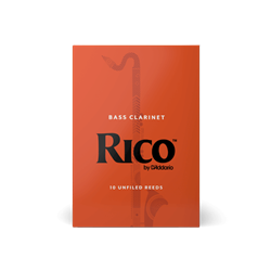 Rico Bass Clarinet Reeds Box of 10
